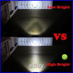 10pcs 4 18W 1260LM CREE Flood LED Work Light Bar Off-road SUV Boat ATV Jeep 4WD