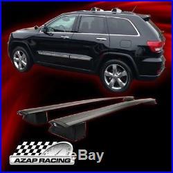 11-18 OEM Type Black Roof Rack Cross Bar Pair WithKey Lock Fit Jeep Grand Cherokee