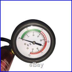 14PCS Cooling System Radiator Water Pressure Tester Leak Detector Aluminium Kits