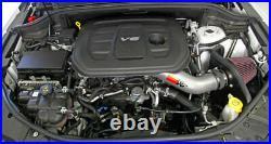 2016-2020 Grand Cherokee Dodge Durango 3.6L K&N Cold Air Intake System +11HP
