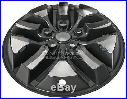 2017 18 19 Grand Cherokee Limited 18 Black Wheel Skins Hub Caps Full Rim Covers