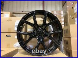 20X10 +50 JEEP SRT8 Gloss Black Wheels FITS JEEP Grand Cherokee SRT 5x127 5x5.5