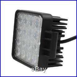 20X 48W 12V24V LED Work Light Flood Light OffRoad Driving SUV Boat Tractor /Spot