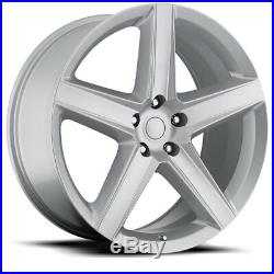 20 10 WK1 Style Silver Wheels Rims Fits For 11 20 Jeep Grand Cherokee SRT