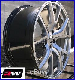 20 inch RW Wheels for Jeep Grand Cherokee 20x9 Hyper Silver SRT Night Rims 5x5