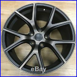 20 x 9 Trackhawk Wheels Rims Black Bronze Fits 99 19 Jeep Grand Cherokee