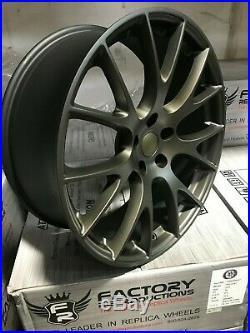22 x 10 Bronze Hellcat Style Fits SRT8 11 19 Jeep Grand Cherokee Wheels Rims