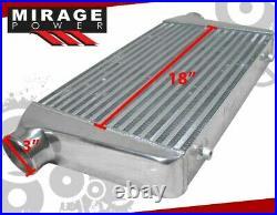 25 X 11.75 X 3 High Flow Fmic Turbo Intercooler For Bmw E36 E39 E90 E92