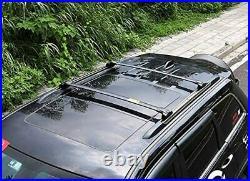 2Pcs Roof Rail Rack Cross Bars Crossbar Fit for Jeep Grand Cherokee 2011-2020