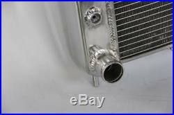 2Row New Aluminium Radiator For 1993-1997 Jeep Grand Cherokee 4.0 L6 + 16 Fan