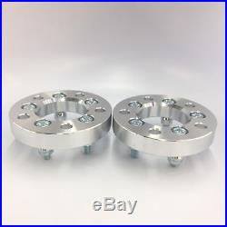 (2) 5X5 TO 5X5 (5X127) Wheel Spacers 1/2 Studs 1 Inch 25mm Rubicon