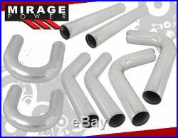 2.5 Turbo Piping Kit Fmic Intercooler Pipe Diy T-Bolt Silicone Coupler Polish