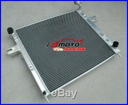 2 Row Aluminum Radiator for JEEP GRAND CHEROKEE 4.7 V8 1999-2000 99 00 MT/AT