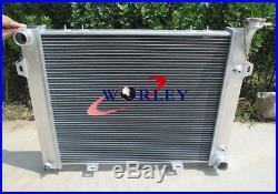 2 row Aluminum radiator for Jeep Grand Cherokee 5.2L V8 1993-1998 1994 1995 1996