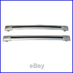2pcs Aluminium Alloy Parcel Rack Roof Carriers For Jeep Grand Cherokee 2007-15