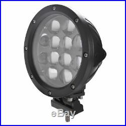 2x7 60W 6500K LED Work Light Spot Offroad Driving Fog Lamp Round for Jeep 4x4