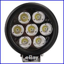 2x 6Inch 70W CREE LED Work Light Spot Round Headlight Fog Lamp Offroad SUV Truck