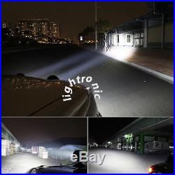 2x 6 70W Cree LED Offroad Light Round Work Lamp Driving Fog for Jeep SUV Boat