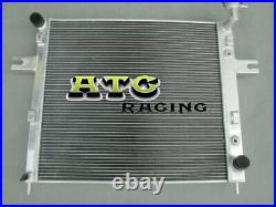 4Row All Aluminum Radiator for 1999-2000 Jeep Grand Cherokee WJ/WG 4.7L V8 2001