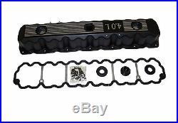 4.0L Engine Aluminum Valve Cover Black fits Jeep Various Models Inline 6