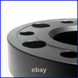 4 30MM Hubcentric Aluminum Wheel Spacers 5x127 for Jeep Grand Cherokee WJ WK WK2