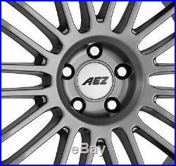 4 Alu Felgen AEZ Strike graphite 8.0Jx18 5x127 für JEEP Commander Grand Cherokee