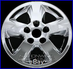 4 New CHROME 2011-2013 Jeep Grand Cherokee 17 Wheel Skins Hub Caps Rim Covers