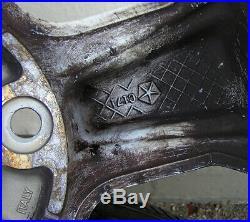 4 orig. Jeep Grand Cheerokee WJ Alufelgen 7,5 J x 17 Felgennummer 5HF55 TRMAA