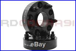 4pc 2018 Jeep Wrangler JL 2DR 4DR 1.5 Thick Black HubCentric Wheel Spacers 5x5
