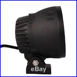 4pcs 4inch 25W Round LED Work Light Spot Fog Driving Head Lamp Offroad ATV Truck