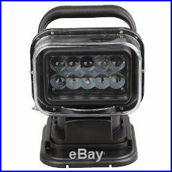 50W LED Search Light with Remote and Magnetic Base 360 Degree for Large Trucks