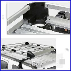 50X 38Aluminum Roof Rack Adjustable Van/SUV Top Crossbar Luggage Bag Carrier