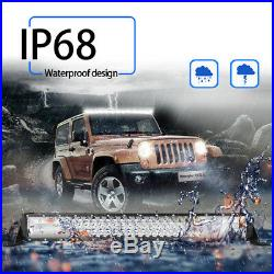 54Inch 3150W LED Light Bar Combo+ 32 + 4x 4 CREE PODS For Jeep Ford VS 52 30