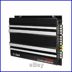 5800Watt 4 Channel Car Amplifier Stereo Audio Speaker Amp For Subwoofer DC 12V