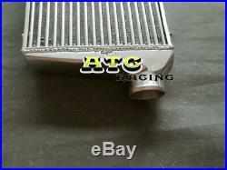 600x300x70mm Universal FMIC Aluminum Intercooler + Blue piping kit 3 76mm pipe
