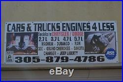 6.1l Ohv Hemi Chrysler Dodge Jeep Mopar Pair Of Manufactured Cylinder Heads