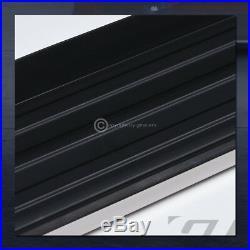 6 Hd Aluminum Blk/Chrome Side Step Rail Running Boards Vp 2011+ Grand Cherokee