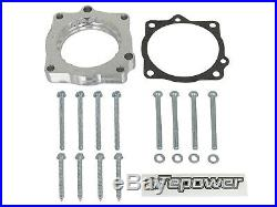AFe Power 46-32007 Silver Bullet Throttle Body Spacer Fits Challenger Charger
