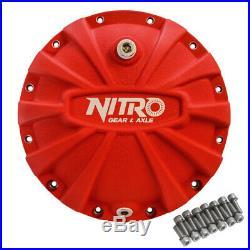 AMC Model 20 Nitro Aluminum Differential Cover Red Made in USA Jeep CJ5 CJ7 CJ8
