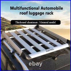 AUXFREE Roof Rack Cross Bar Door Frame Clamp Universal for Naked Roof Car SUV
