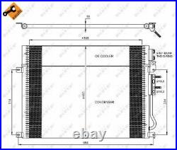 A/c Air Condenser Radiator New Oe Replacement For Jeep Grand Cherokee III Wh Wk