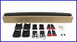 Aerodynamic Black Anodised Aluminium Cross Bar For Jeep Grand Cherokee WK