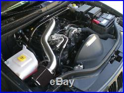 All Black For 2005-2009 Jeep Grand Cherokee Commander 4.7L V8 Long Air Intake