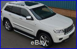 Aluminium Side Steps Bars Running Boards To Fit Jeep Grand Cherokee 2011