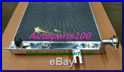 Aluminum Radiator CHEROKEE WJ WG 4.7L V8 1999-2005 For JEEP GRAND + Fan