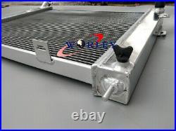 Aluminum Radiator+FAN For 1993-1997 Jeep Grand Cherokee 4.0L L6 AT/MT 94 95 96