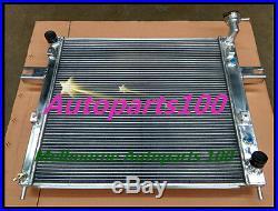 Aluminum Radiator GRAND CHEROKEE WJ WG 4.7 V8 1999-2005 For JEEP + shroud + fan