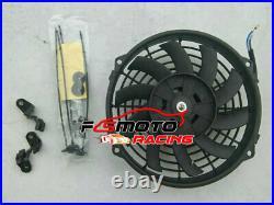 Aluminum Radiator Shroud+FAN For Jeep Grand Cherokee WJ WG 4.7L V8 1999 -2005 AT
