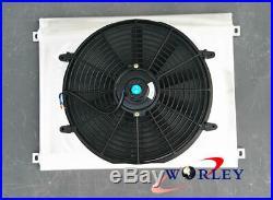 Aluminum Shroud + fan For JEEP GRAND CHEROKEE 4.7 V8 AT/MT 1999 2000