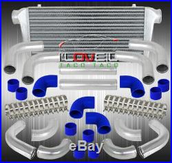 Aluminum Turbo 31X11.5X3 Front Mount Intercooler + 12Pcs 76Mm Piping Pipe Kit